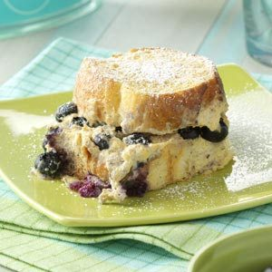 Baked Blueberry French Toast Recipe