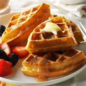 Fluffy Waffles Recipe