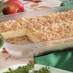 Crunchy Ice Cream Dessert Recipe