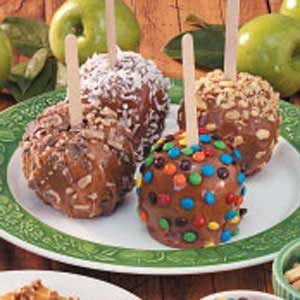 Cinnamon Caramel Apples Recipe