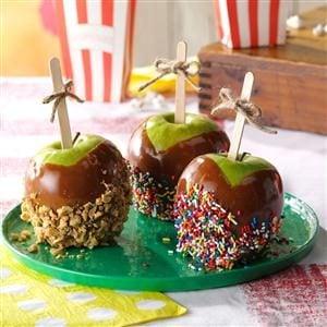 Cinnamon Caramel Apples Recipe