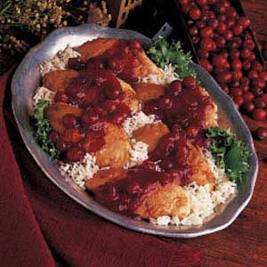 Tart Cranberry Chicken