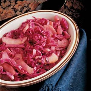 Sweet-and-Sour Red Cabbage Recipe