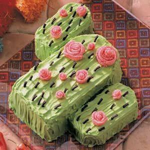Flowering Cactus Cake Recipe