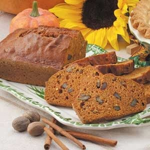 Coconut Pumpkin Loaves Recipe