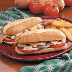 Reunion Steak Sandwiches Recipe