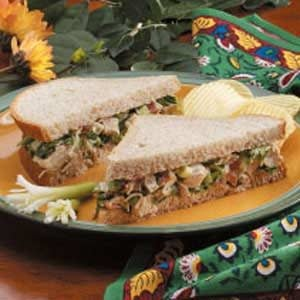 Turkey Salad on Wheat Recipe