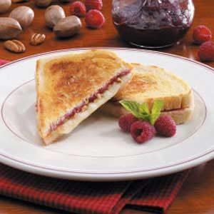 Raspberry Grilled Cheese Recipe