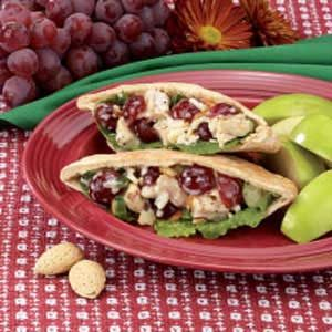 Pita Pocket Chicken Salad Recipe