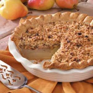 Pear Crunch Pie