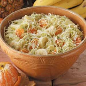 Fruited Cabbage Potluck Salad Recipe
