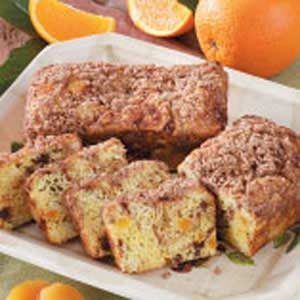 Apricot-Date Mini Loaves Recipe