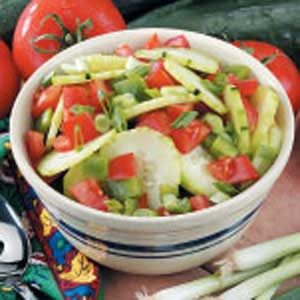 Garden Cucumber Tomato Salad