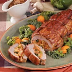 Crawfish-Stuffed Pork Tenderloins Recipe