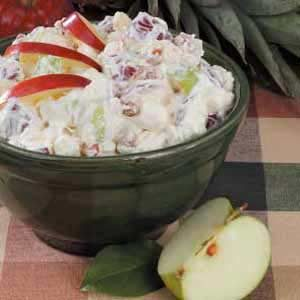 Apple Mallow Salad