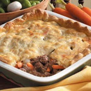 Vegetable Beef Potpie Recipe