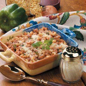 Sausage Macaroni Bake Recipe