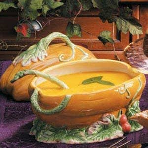 Ginger Squash Soup Recipe