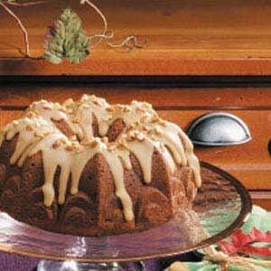 Apple Spice Bundt Cake Recipe