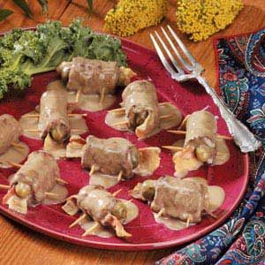 Round Steak Beef Rouladen Recipe
