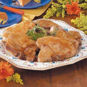 Mustard-Glazed Pork Chops Recipe