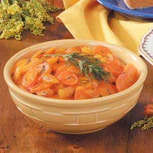 Herbed Apricots 'n' Carrots Recipe