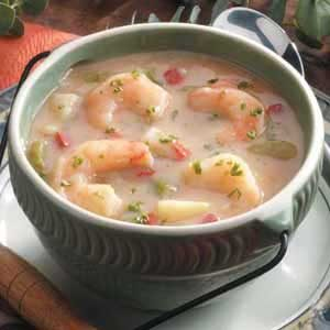 Low-Fat Shrimp Chowder Recipe