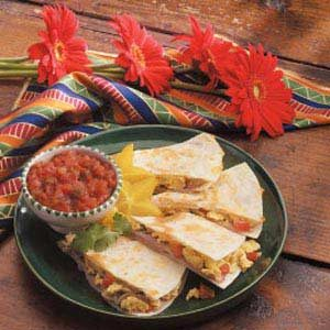 Omelet Quesadilla Recipe