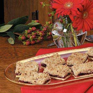 Cherry Streusel Bars Recipe