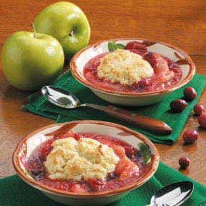 Apple Cranberry Cobbler Recipe