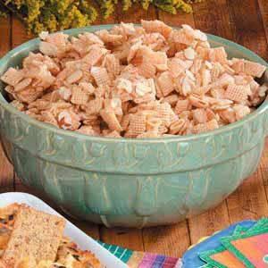 Almond Snack Mix Recipe