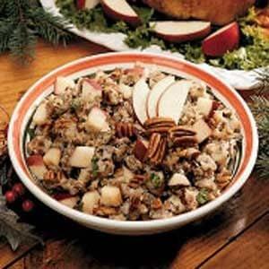 Sausage-Pecan Turkey Stuffing Recipe