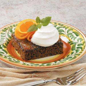 Orange Spice Cake Recipe