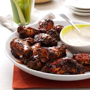 Grilled Wing Zingers Recipe