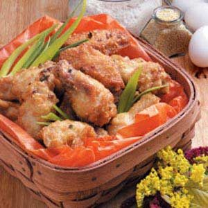 Deep-Fried Chicken Wings Recipe