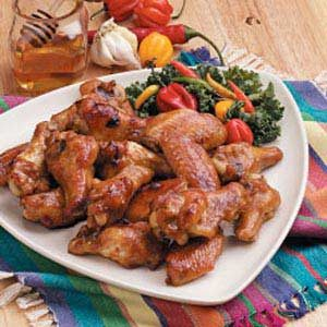 Honey-Glazed Wings Recipe