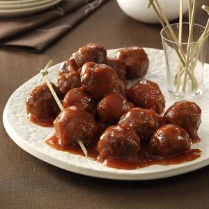 Tangy and Sweet Meatballs