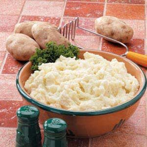 Sunday Dinner Mashed Potatoes Recipe