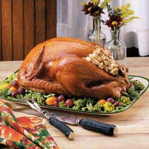 Turkey with Grandma's Stuffing Recipe