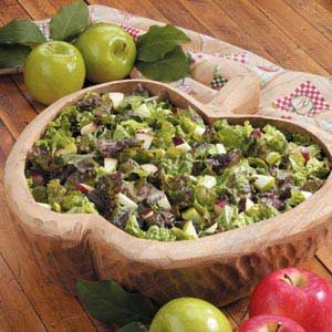 Apple Lettuce Salad Recipe