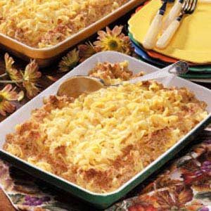 Cheesy Pasta Casserole Recipe