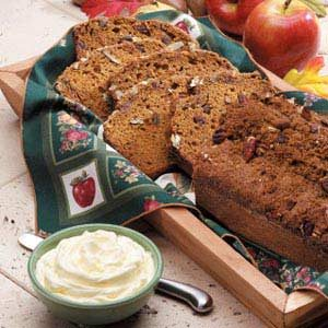 Pumpkin Quick Bread Recipe