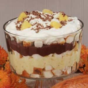 Chocolate Pineapple Trifle