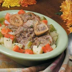 Veal Shank Fricassee Recipe