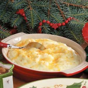 Creamy Cheese Mashed Potatoes Recipe
