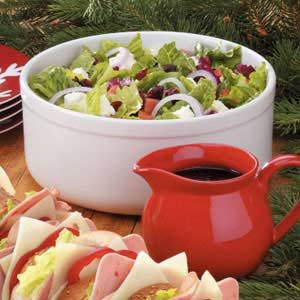Festive Tossed Salad with Feta Recipe