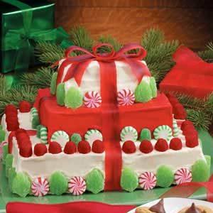Christmas Gift Cake Recipe