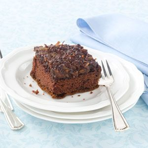 Chocolate Upside-Down Cake