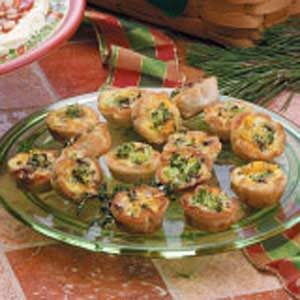 Mushroom Broccoli Cups Recipe