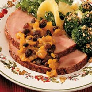 Ham with Pineapple Sauce Recipe